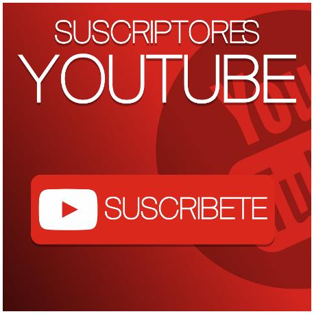 Suscriptores Youtube